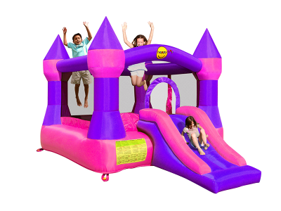 Castle Bouncer With Slide (9017P)