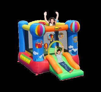 Hot air Balloon Slide and Hoop Bouncer(9070N)
