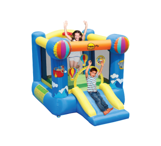 Hot air Balloon Slide and Hoop Bouncer(9070N)