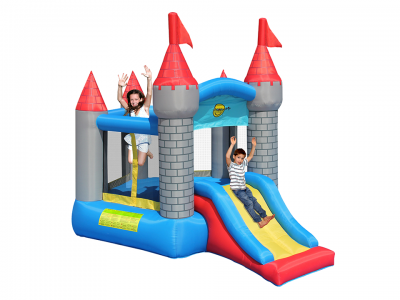 Pentagon Shaped Castle With slide (9018N)